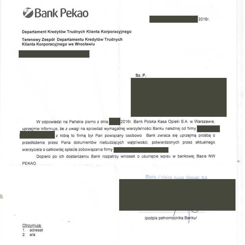 Bankowy Rejestr