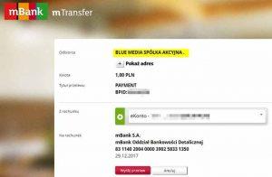 mTransfer w mBanku pomaga w weryfikacji BIK